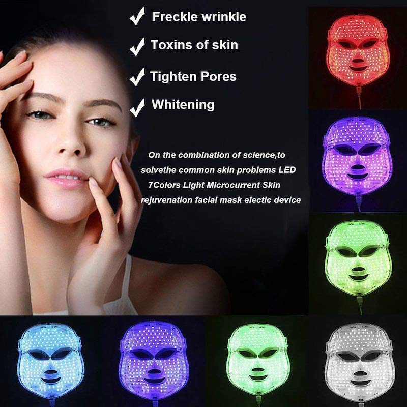 led masque facial